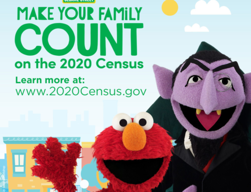 """Poster & Fact Sheet: """"Make Your Family Count"""" by Sesame Street"""